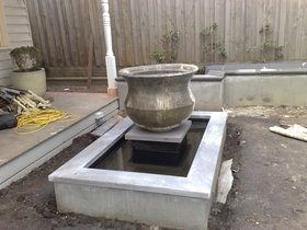 Ponds Fountains Water Features - DIY Waterproofing-Liquid Rubber