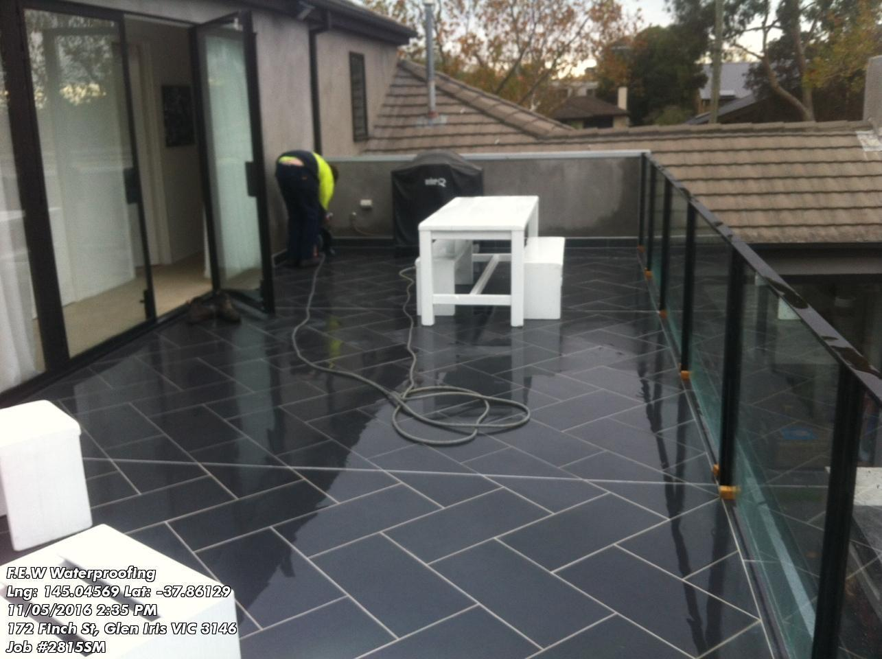 Balcony Waterproofing Which Tile Adhesive To Use With Liquid