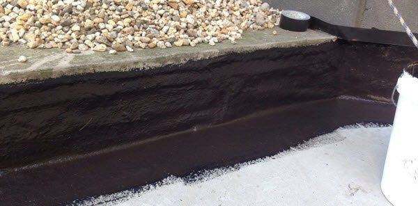 Retaining Wall Waterproofing Diy Waterproofing Liquid Rubber