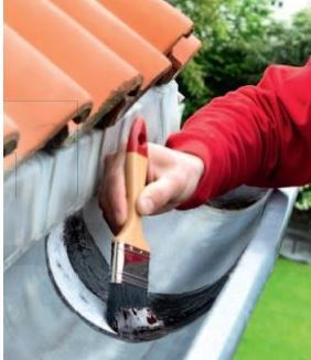 how to fix leaking gutters paint on liquid waterproofing coating. Black Bedroom Furniture Sets. Home Design Ideas